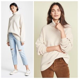 FREE PEOPLE Softly Structured Tunic Knit Sweater S